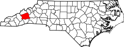 Buncombe County Map